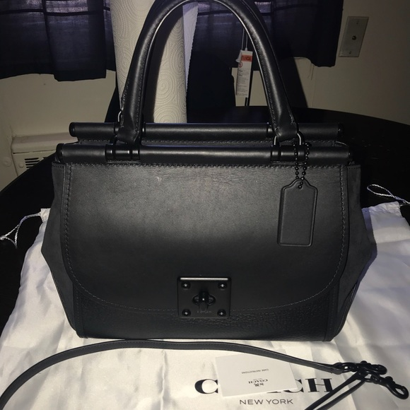 Coach Handbags - Coach Mixed Leather Drifter Carryall 38389 87f4182ccc8c0